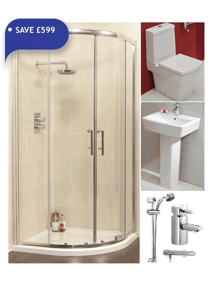 Cubo Complete Ensuite Bathroom Pack