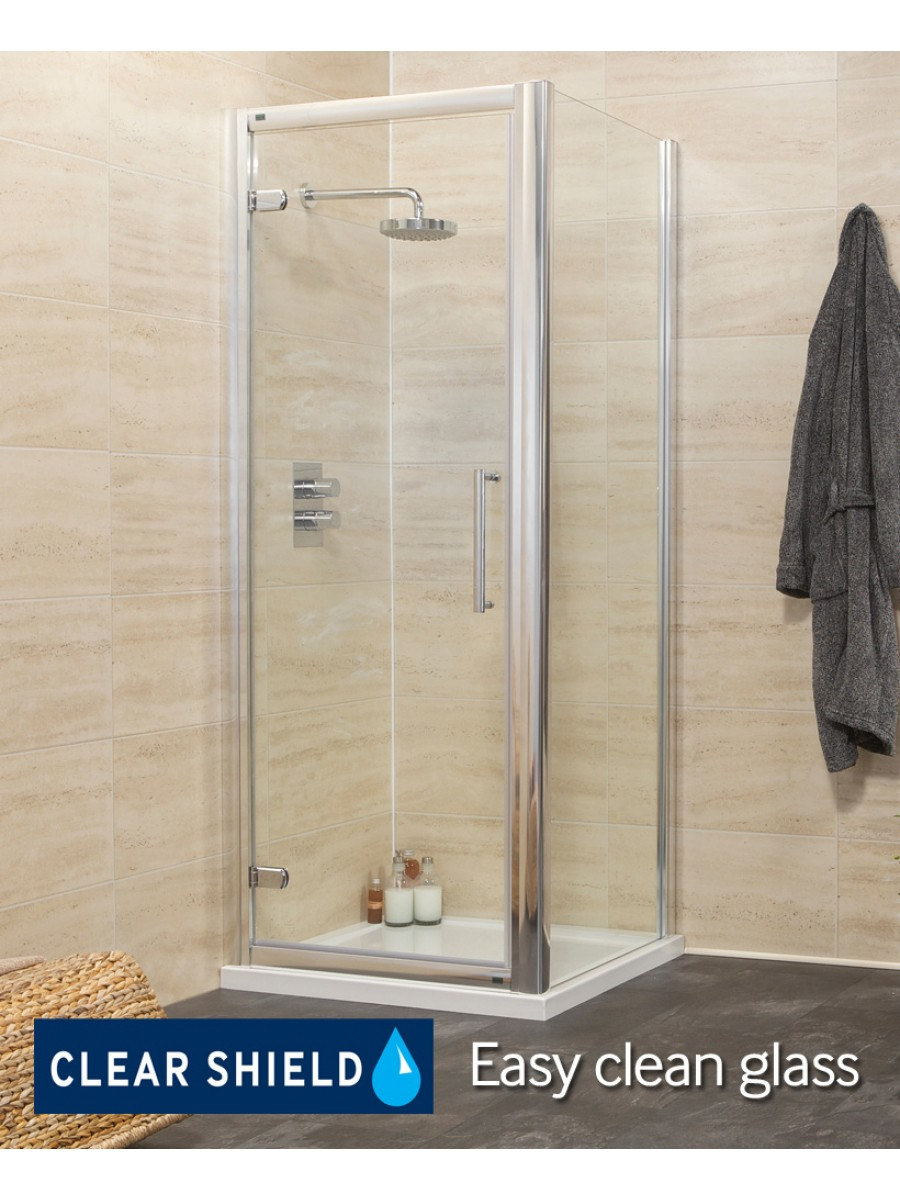 Rival 1200 Hinge Shower Enclosure with Single Infill Panel