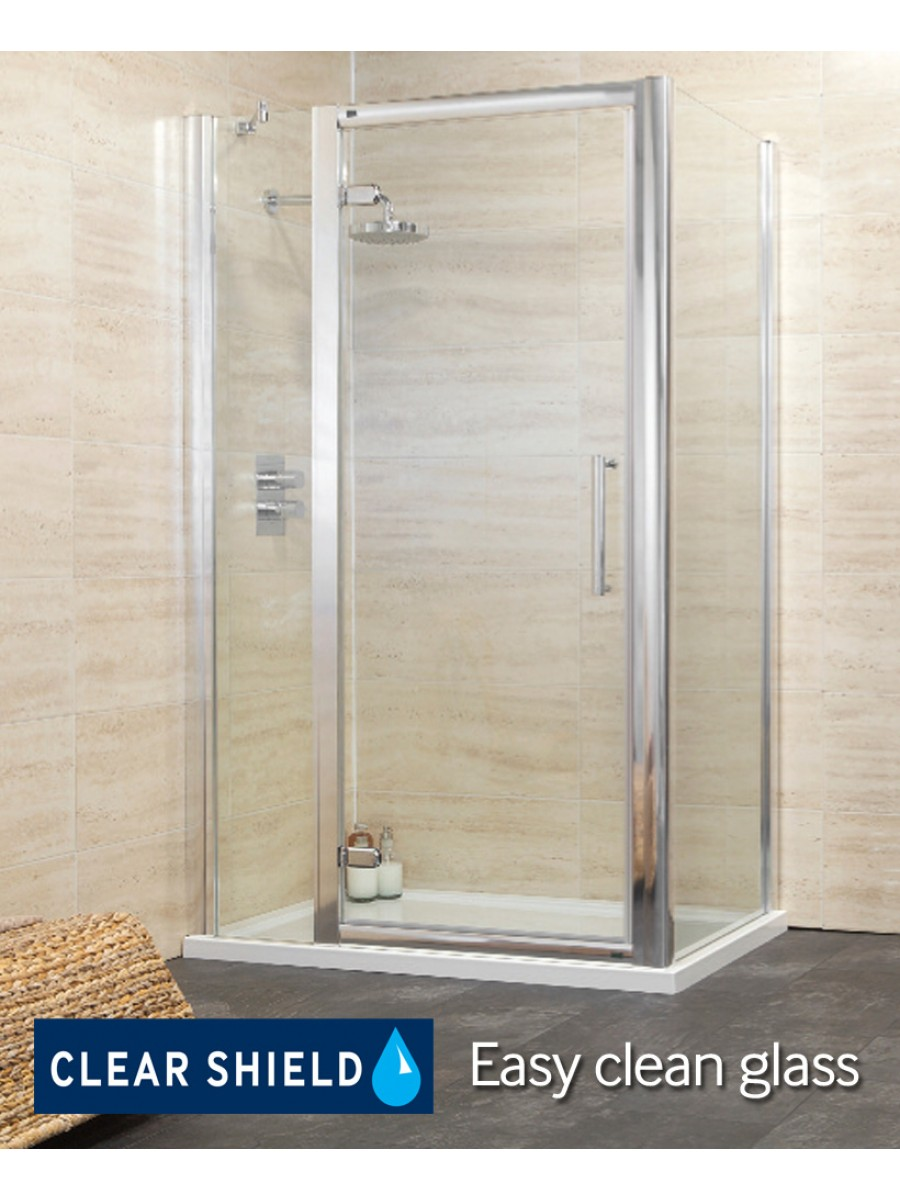 Rival 1100 Hinge Shower Enclosure with Single Infill Panel