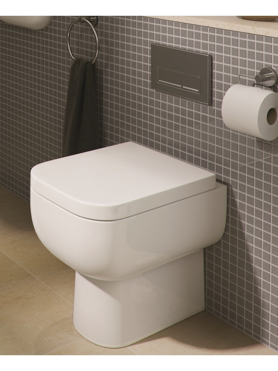 Wall Mirror x large wall mirrors : RAK Series 600 Back to Wall Toilet u0026 Soft Close Seat