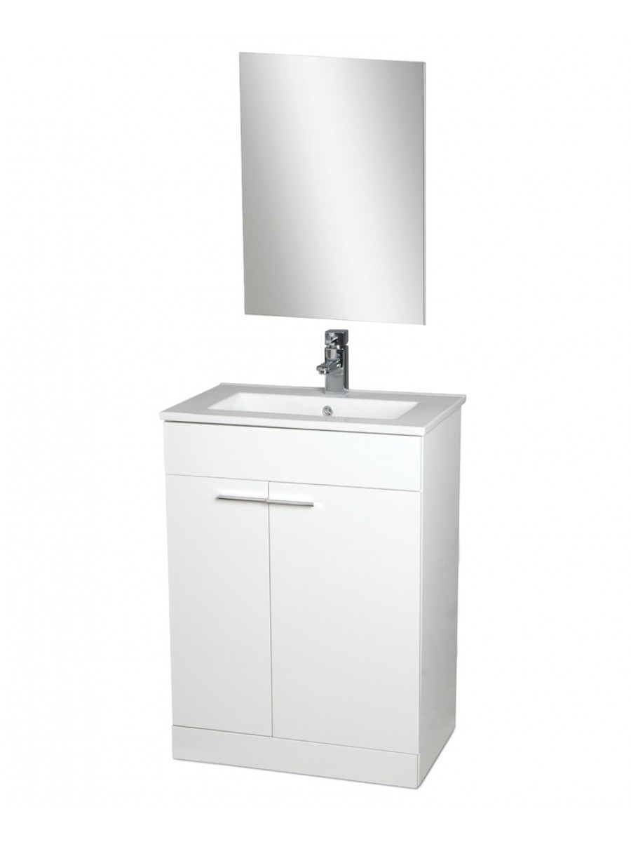 Spain 60cm Vanity Unit , Basin , Mirror AND Tap