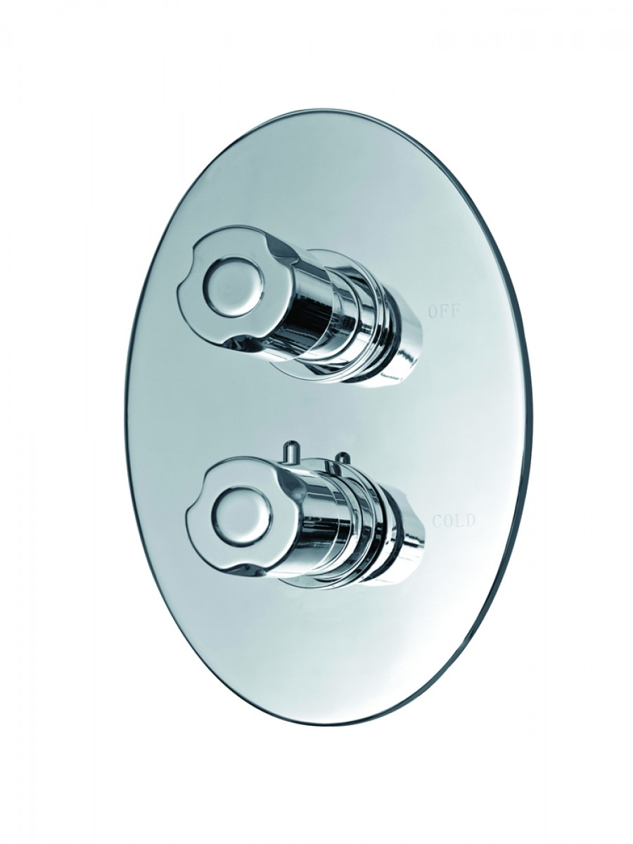 "Biotherm 3/4"" Concealed Thermostatic Shower Valve"