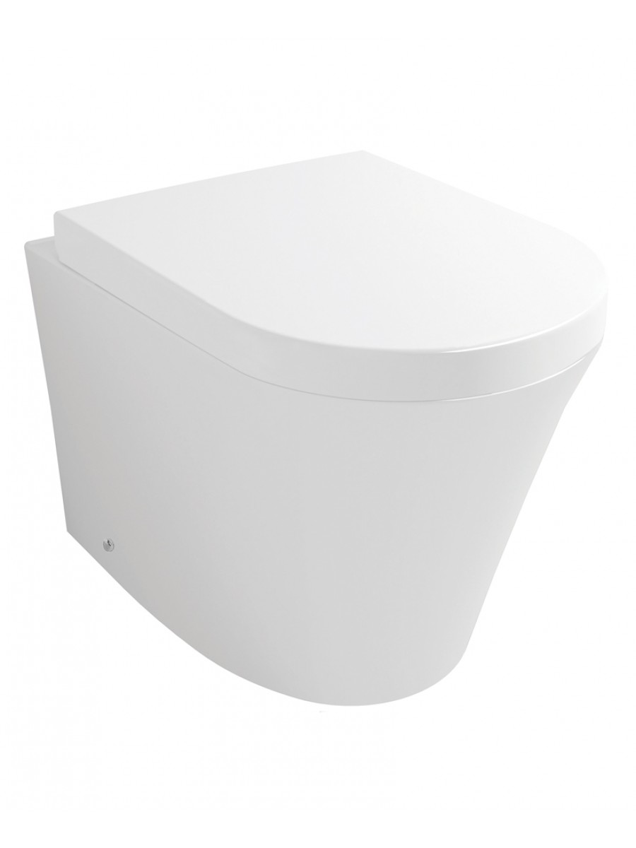 Rondo Back to Wall Toilet & Soft Close Seat