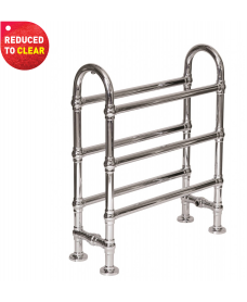 Breton 770 x 680 Heated Towel Rail - REDUCED TO CLEAR