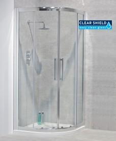 Avante 8mm 900 Quadrant Double Shower Door - Adjustment 850-880mm