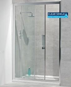 Avante 8mm 1300 Sliding Shower Door - Adjustment 1240-1300mm