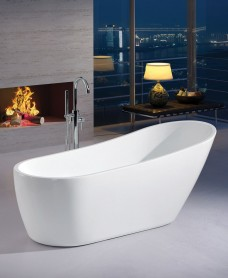 Wave 1700 x 750 Free Standing Bath