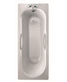 Celtic Steel Bath 1700x700 Twin Grip