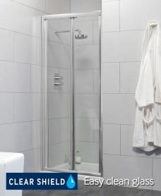 Cello 900 Bifold Shower Door - Adjustment 840-890mm
