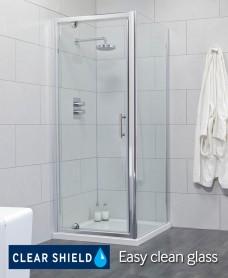 Cello 760 Pivot Shower Enclosure - Adjustment 700-750mm