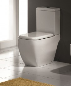 RAK Metropolitan Close Coupled Toilet and Soft Close Seat