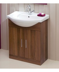 Cordoba Walnut 65cm Vanity Unit & Basin