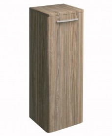 Twyford E100 Grey Ash Side Cabinet - Large