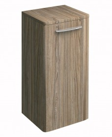 Twyford E100 Grey Ash Side Cabinet - Small