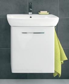 Twyford E100 550 White Vanity Unit - Wall Hung