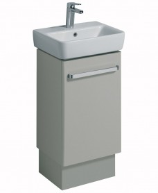 Twyford E200 450 Grey Vanity Unit Floor Standing