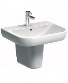 Twyford E500 Round 550 Basin & Semi Pedestal