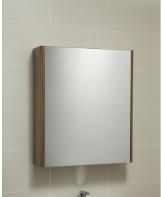 Elora 60 Mirror Cabinet Walnut