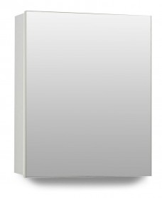 Hampstead 1 Door Mirror Cabinet 40cm White