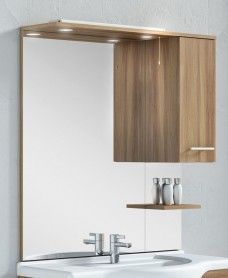 Blanco Walnut 100 Mirror
