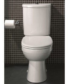 Galerie Close Coupled Toilet & Soft Close Seat