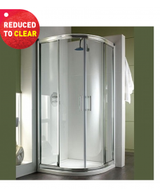 Twyford Hydr8 Quadrant 1000X1000mm Shower Enclosure - REDUCED TO CLEAR