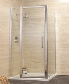 Rival 1000 Hinge Shower Enclosure with Single Infill Panel