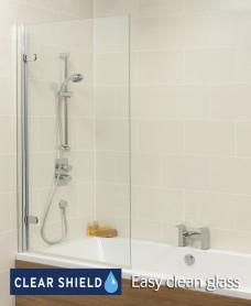 Hinged Single Panel Bathscreen