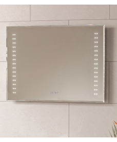 Horizon LED Clock Mirror 800 x 600