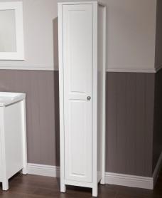 Ashbury Traditional 35cm Tall Unit Chalk White