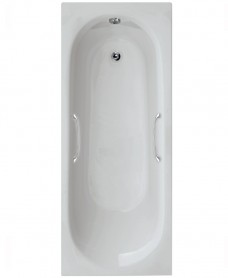 Leyton 1700 x 700 Twin Grip Single Ended Bath