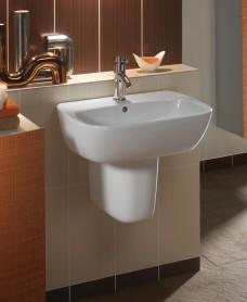 Twyford Moda Basin 55cm & Semi Pedestal