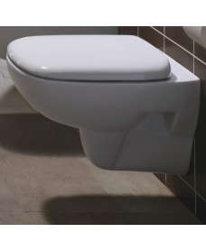 Twyford Moda Wall Hung Toilet & Soft Close Seat