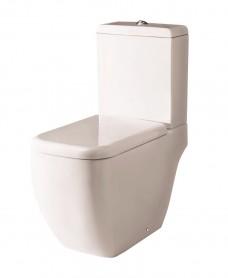 Metropolitan Close Coupled Toilet and Soft Close Seat