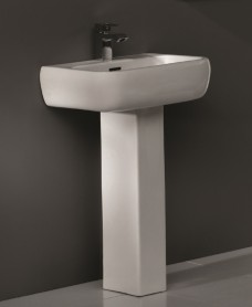 RAK Metropolitan Basin 52cm and Pedestal