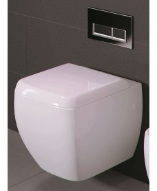 RAK Metropolitan Wall Hung Toilet and Soft Close Seat - PRICE INCLUDES PAN AND SEAT
