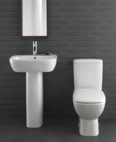 Twyford Moda Toilet and Wash Basin Set
