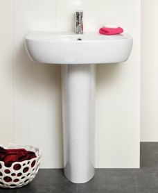 Prato Basin 55cm  & Pedestal (1TH)
