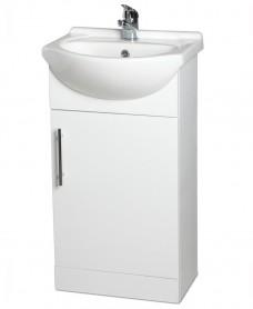 Blanco 45cm Vanity Unit, Basin and Tap