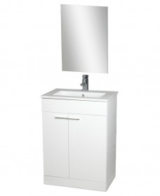 Spain 60cm Vanity Unit , Basin , Mirror AND Tap