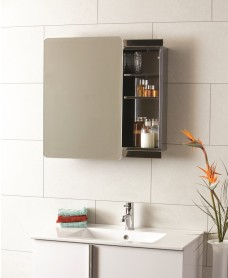 Steel Sliding Door Mirror Cabinet 460 x 660