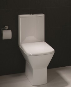 RAK Summit Close Coupled Toilet and Soft Close Seat - PRICE INCLUDES PAN, CISTERN AND SEAT