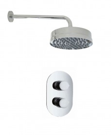 Jupiter Oval Thermostatic Shower Kit I