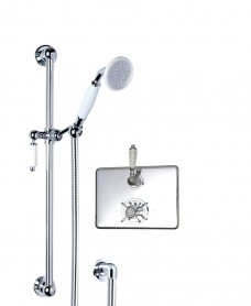 Traditional Thermostatic Shower Kit 2