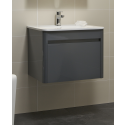 Elora 60cm Anthracite Vanity Unit and Basin