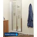 Kyra Range 900 Bifold Shower Door - Adjustment 860 -920mm