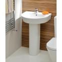 Curvo Basin 55cm & Pedestal