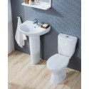 Modena Toilet and Wash Basin Set