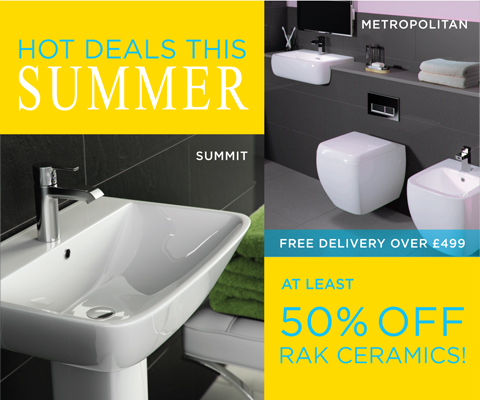 50% off RAK Ceramics