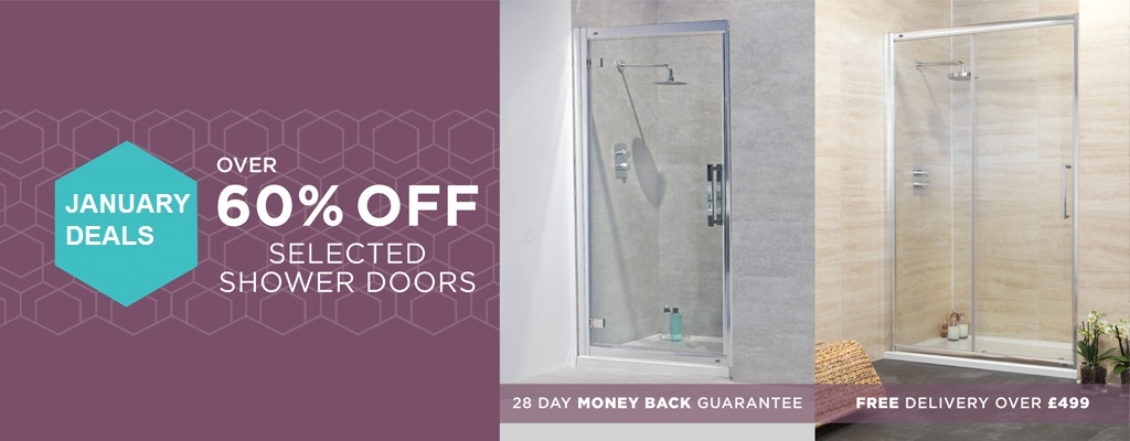 Up to 60% off  Shower Doors